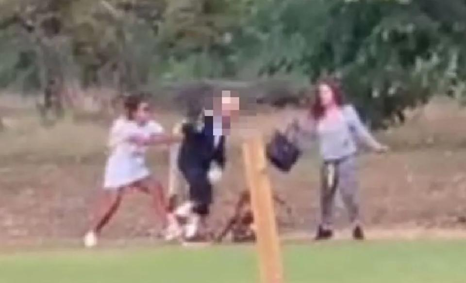 Police would like to identify two female dog-walkers in relation to the attack (Photo: Met Police )