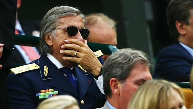 Ilie Nastase will be a notable absentee from Wimbledon's Royal Box in July.