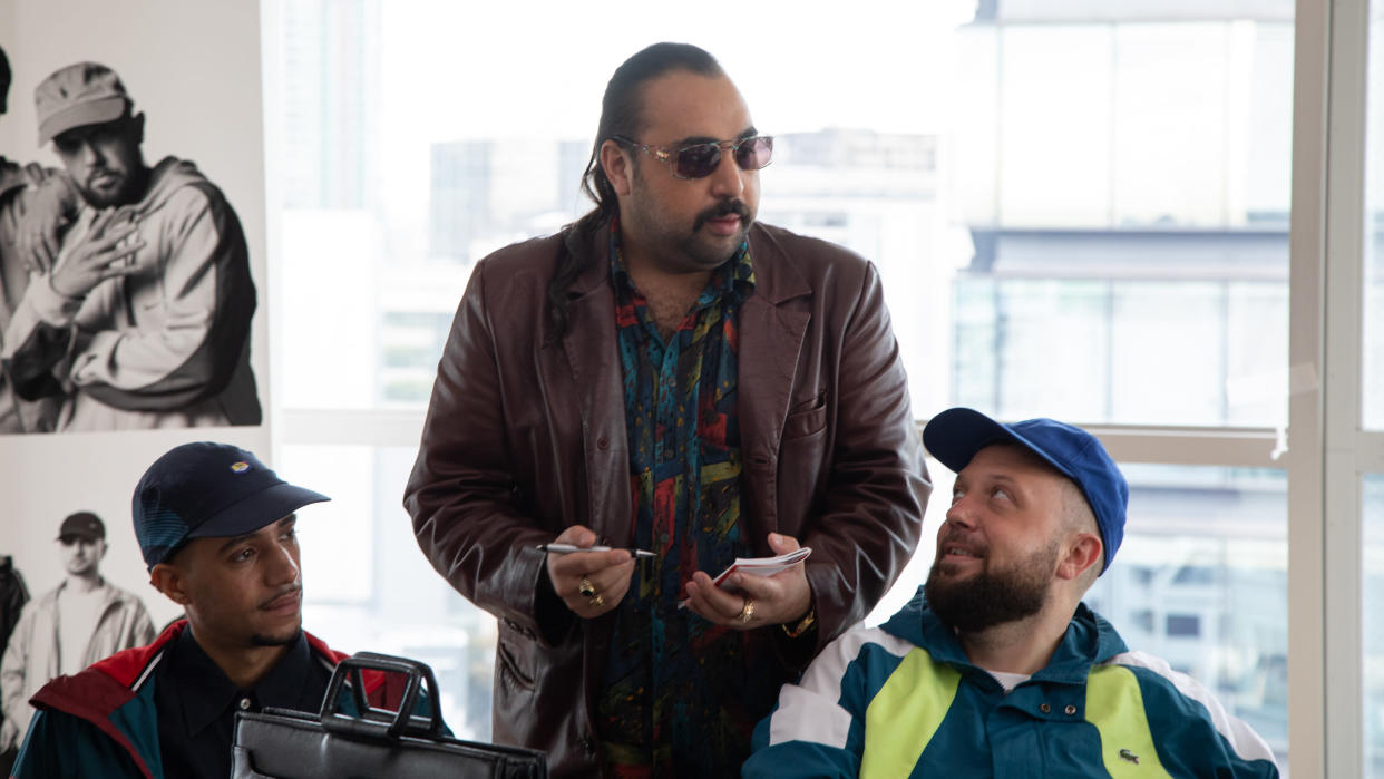 Asim Chaudhry returns as Chabuddy G for the movie spin-off 'People Just Do Nothing: Big In Japan'. (Universal)