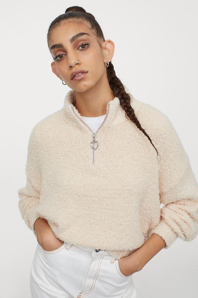 <p>Honestly, I'd wear this <span>Fluffy Sweater</span> ($30) multiple days in a row. </p>