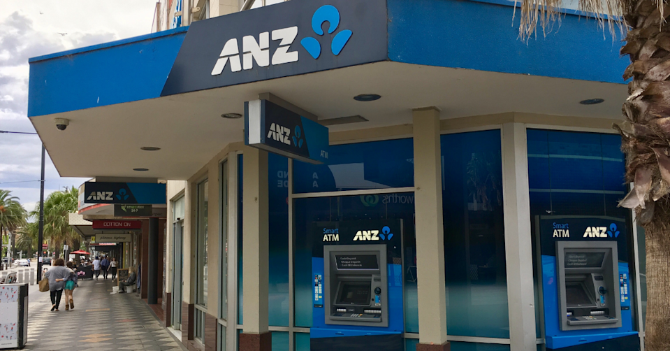 The exterior of an ANZ branch