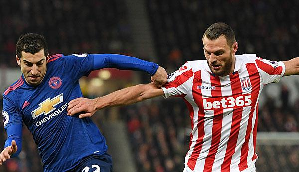 Premier League: Stoke ringt Manchester United Remis ab
