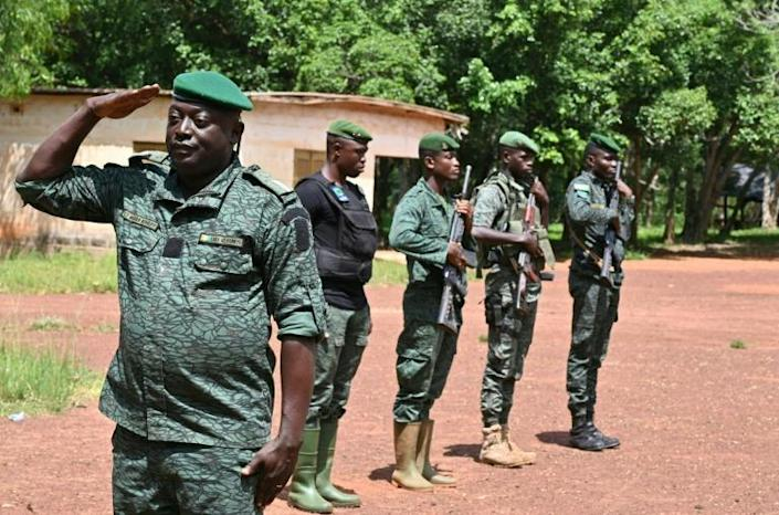 Forest rangers are an important partof the effort to protect Ivory Coast's dwindling forests