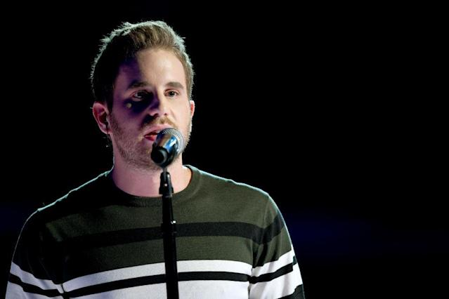 <p>Actor Ben Platt performs onstage during the 60th Annual Grammy Awards at Madison Square Garden on January 28, 2018, in New York City. (Photo: Getty Images) </p>
