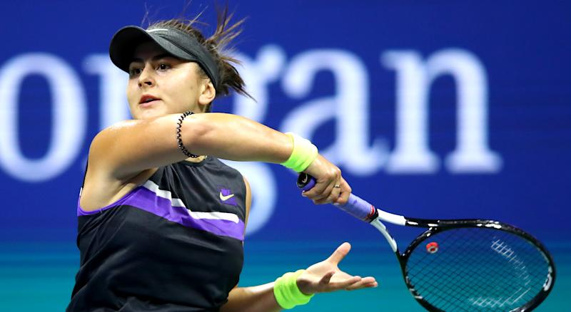 Canadian Bianca Andreescu will now live out a dream, squaring off against the legendary Serena Williams in the US Open final on Saturday. (Photo by Clive Brunskill/Getty Images)