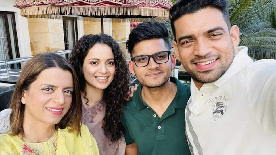 Kangana Ranaut buys property worth Rs. 4cr for her siblings