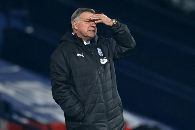 Home truths: Sam Allardyce suffered his heaviest home defeat as a Premier League manager in West Brom's 5-0 thrashing by Leeds