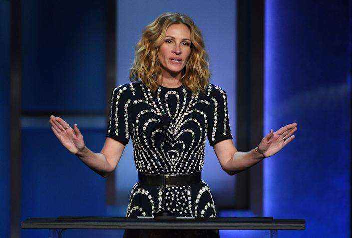 """A studio executive once reportedly suggested that """"Pretty Woman"""" star Julia Roberts should play the lead role in a Harriet Tubman biopic. (Photo: Chris Pizzello/Invision/AP)"""