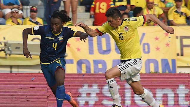 Colombia vs Ecuador 2016 Eliminatoria