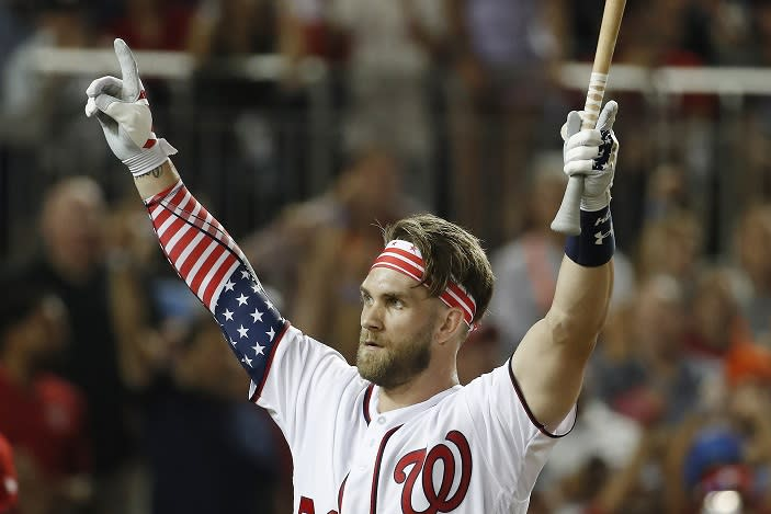 Home Run Derby results today: Bryce Harper of Washington Nationals wins