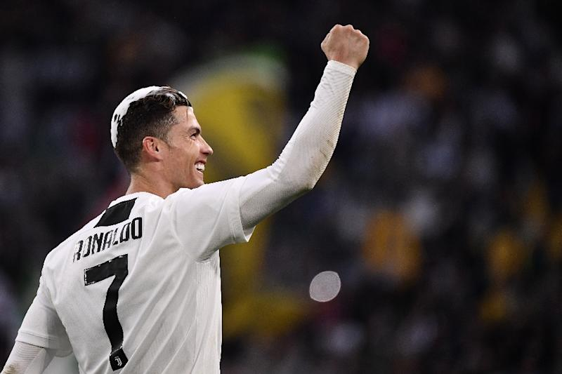 Juventus have won the title leaving Cristiano Ronaldo free to focus on personal glory (AFP Photo/Marco Bertorello)