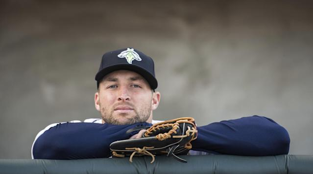 "<p>The Charleston RiverDogs, the Class-A affiliate of the New York Yankees, spent a good chunk of time during their series this weekend against the Columbia Fireflies making fun of baseball dreamer Tim Tebow.</p><p>Now, why in the world would they do that? Well, because they can and it's easy.</p><p>The RiverDogs started their clowning of Tebow, the Firefiles outfielder, by showing the Heisman Trophy winner bawling his eyes out after Florida's defeat to Alabama in the 2009 SEC Championship Game.</p><p>The mascot got in on the fun by wearing eyeblack with ""John 3:16"" written on it.</p><p>Then the RiverDogs reminded everyone that every Columbia Fireflies batter was not Tim Tebow, especially when Tebow was not at-bat.</p><p>For those who are interested, the former NFL quarterback is batting a robust .221 with three home runs and 21 RBI in 60 games with Columbia.</p>"