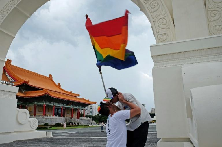 Taiwan became the first place in the region to allow same-sex marriage, in May 2019