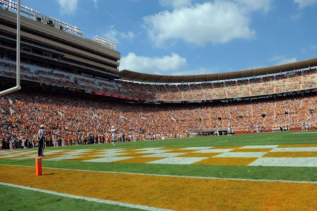 Tennessee linebacker shot by 'random bullet,' not seriously injured