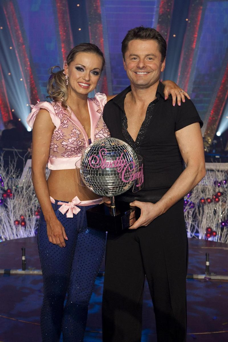 Winners: Ola won Strictly with Chris Hollins in 2009 (BBC)