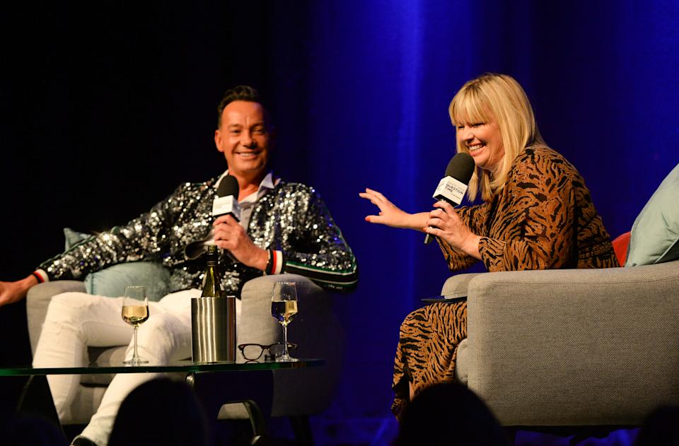 Craig Revel Horwood spoke to Kate Thornton as part of a live recording of the