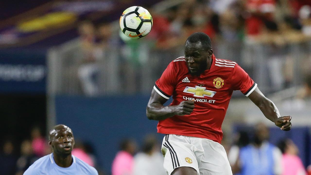 Manchester City's Kevin De Bruyne said Romelu Lukaku is one of the best players in the world after joining Manchester United.