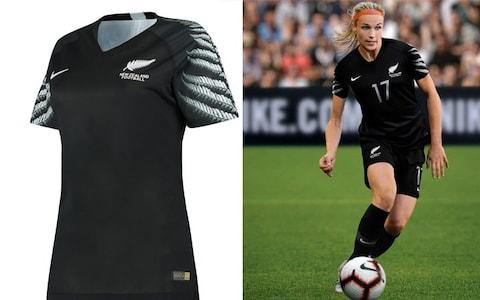 New Zealand away kit, Women's World Cup 2019 - Credit: NIKE