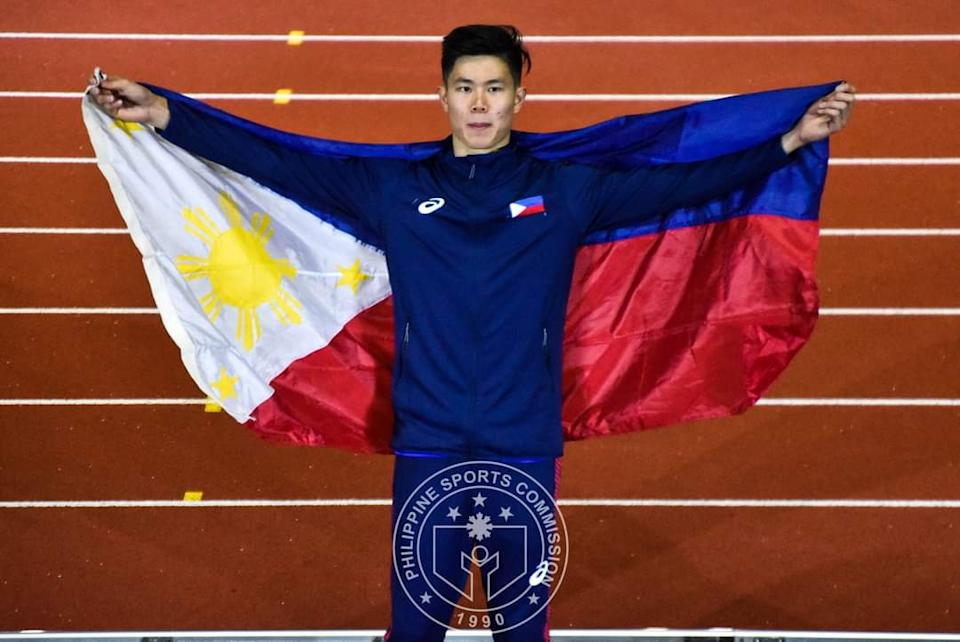 Filipino pole vaulter EJ Obiena is set to represent the Philippines in the Tokyo Olympics. (Photo: Philippine Sports Commission)