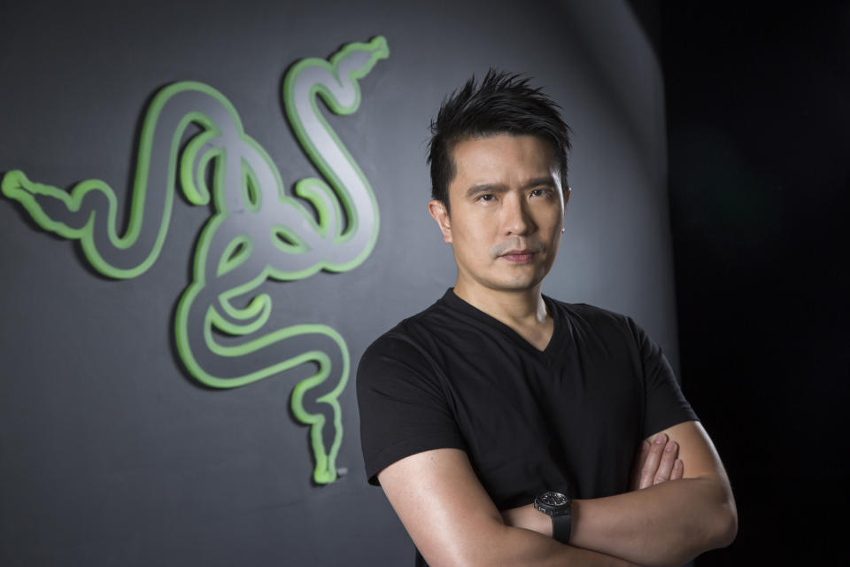 Razer CEO Min-Liang Tan. Photo: Razer