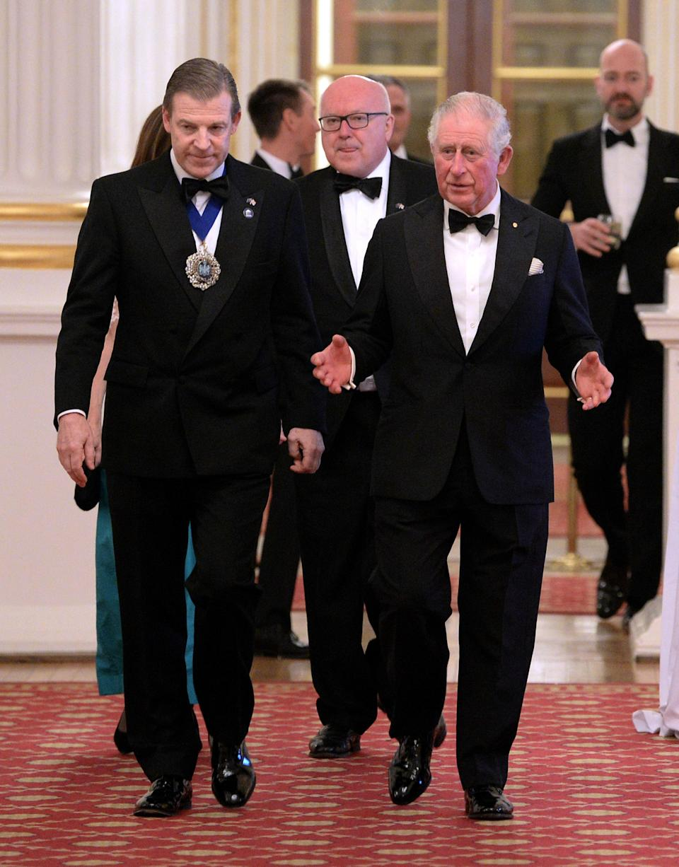 <p>WHERE: A dinner for the Australian bushfire relief and recovery effort in London </p> <p>WHEN: March 12, 2020 </p> <p>WHY: This man can teach you everything you need to know about black tie. </p>