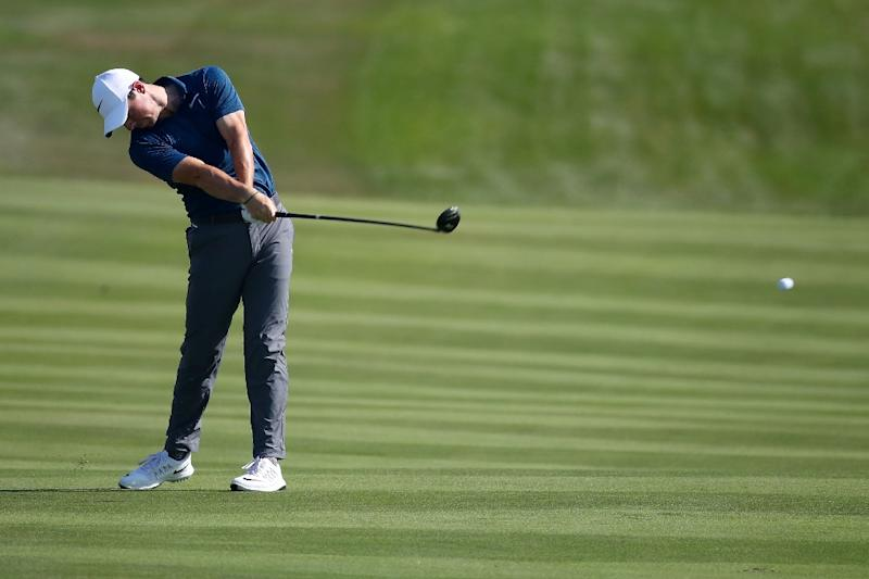 Tommy Fleetwood shoots course record, shares lead at Alfred Dunhill