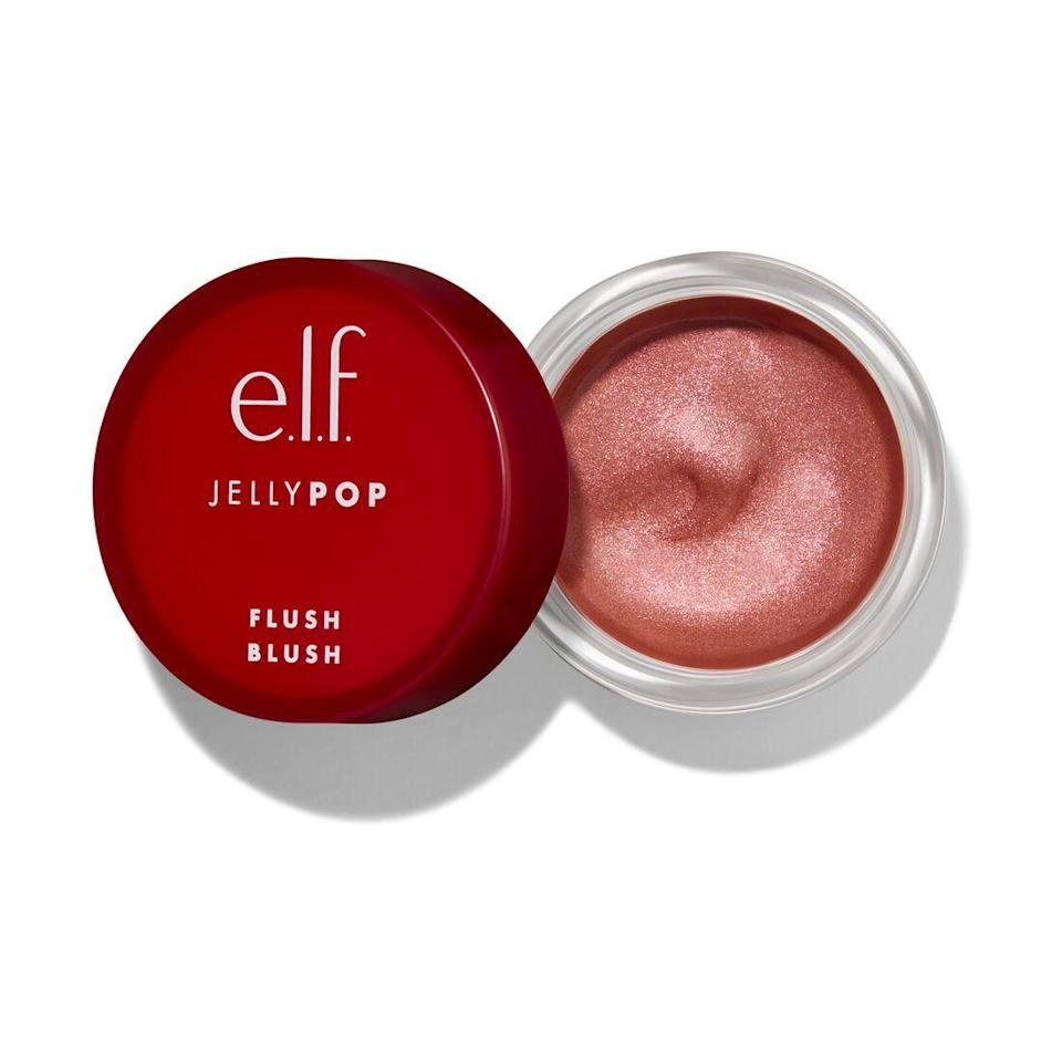 """<p><strong>e.l.f. Cosmetics</strong></p><p>ulta.com</p><p><strong>$100.00</strong></p><p><a href=""""https://go.redirectingat.com?id=74968X1596630&url=https%3A%2F%2Fwww.ulta.com%2Fjelly-pop-flush-blush%3FproductId%3Dpimprod2007746&sref=https%3A%2F%2Fwww.harpersbazaar.com%2Fbeauty%2Fmakeup%2Fg5352%2Fbest-blush%2F"""" rel=""""nofollow noopener"""" target=""""_blank"""" data-ylk=""""slk:Shop Now"""" class=""""link rapid-noclick-resp"""">Shop Now</a></p><p>Without a label, you could confuse e.l.f.'s Jelly Pop blush for a luxury version. This elastic blush packs a 12-hour flush in a $6 package, with a formula that brings deeper color with every additional layer. </p>"""