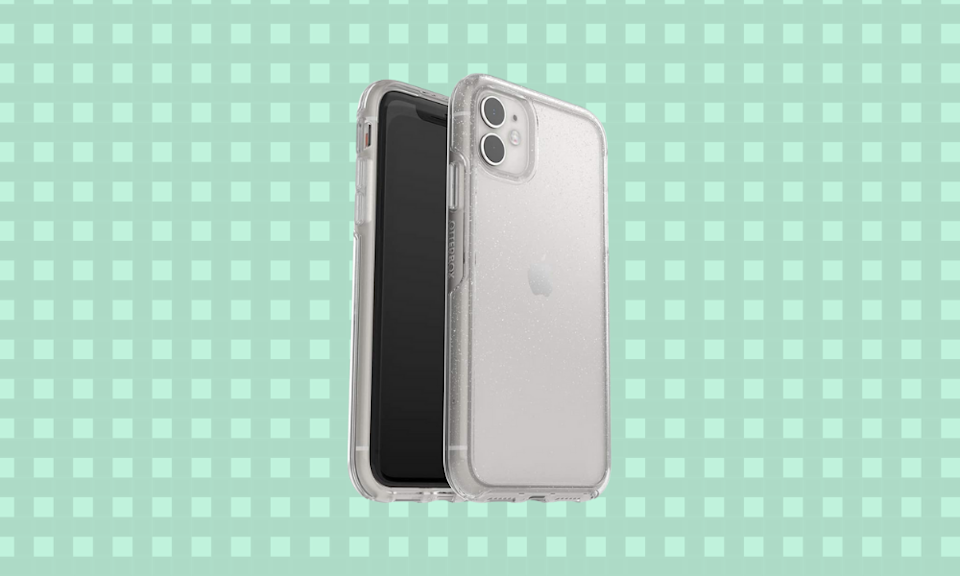 See all of your phone with this clear case. (Photo: Amazon)