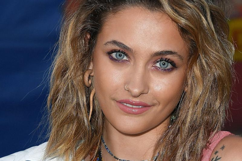 Paris Jackson Debuts A Super Blonde New Hair Color