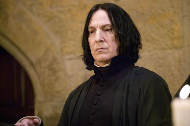 Alan Rickman as Professor Snape. (Photo: Everett Collection)