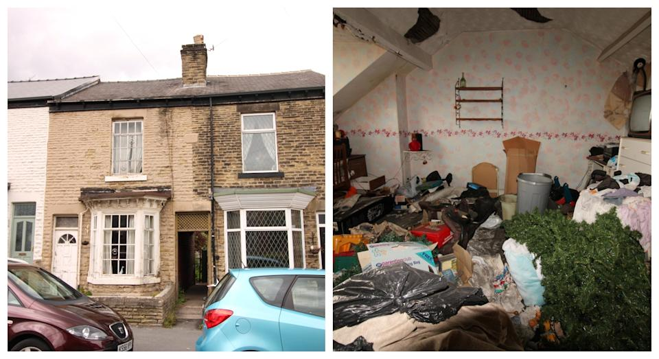 Is this Britain's 'filthiest' home? (SWNS)