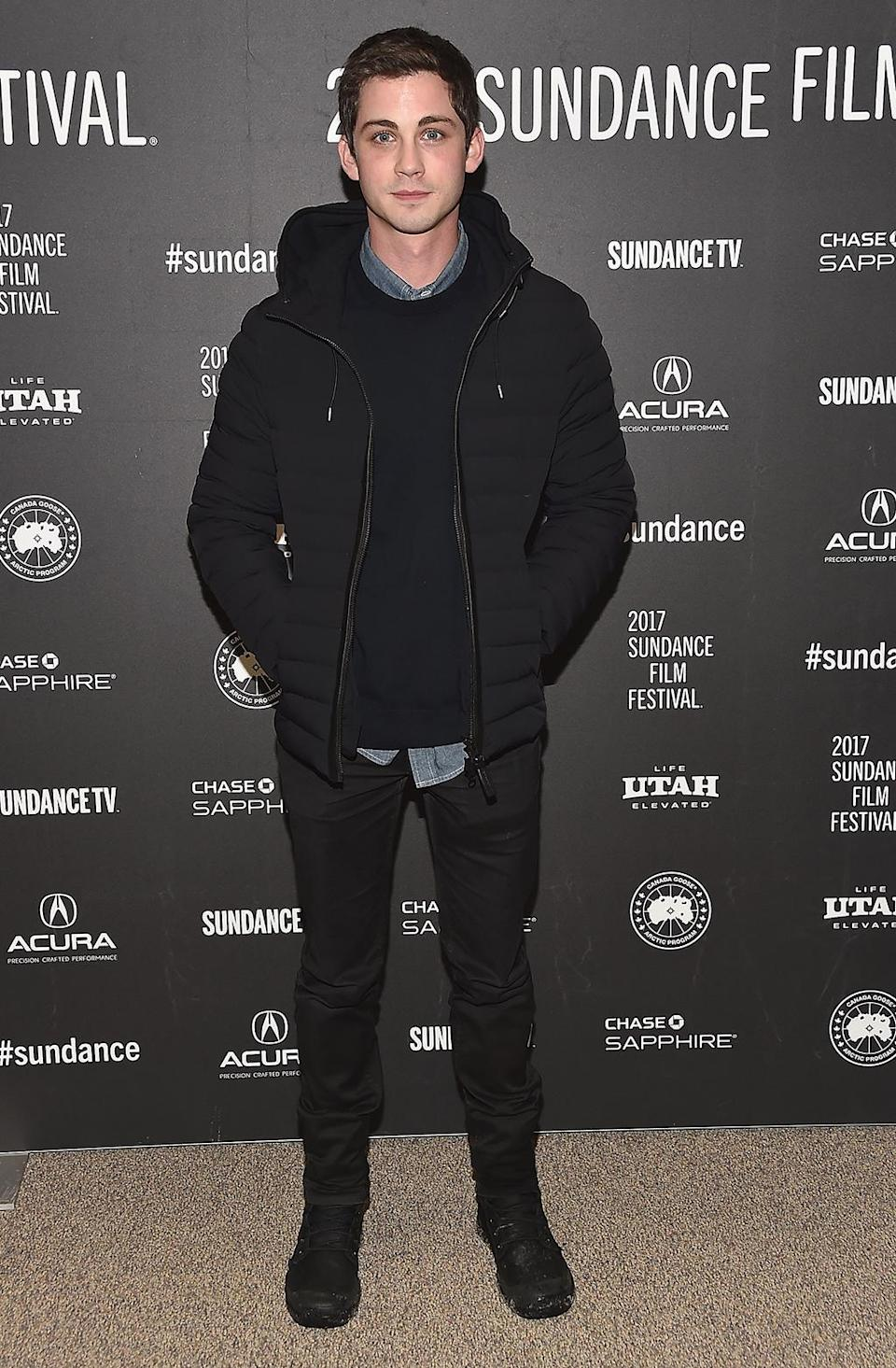 <p>The 'Percy Jackson' star attends the premiere of 'Sidney Hall.' (Photo by Alberto E. Rodriguez/Getty Images) </p>