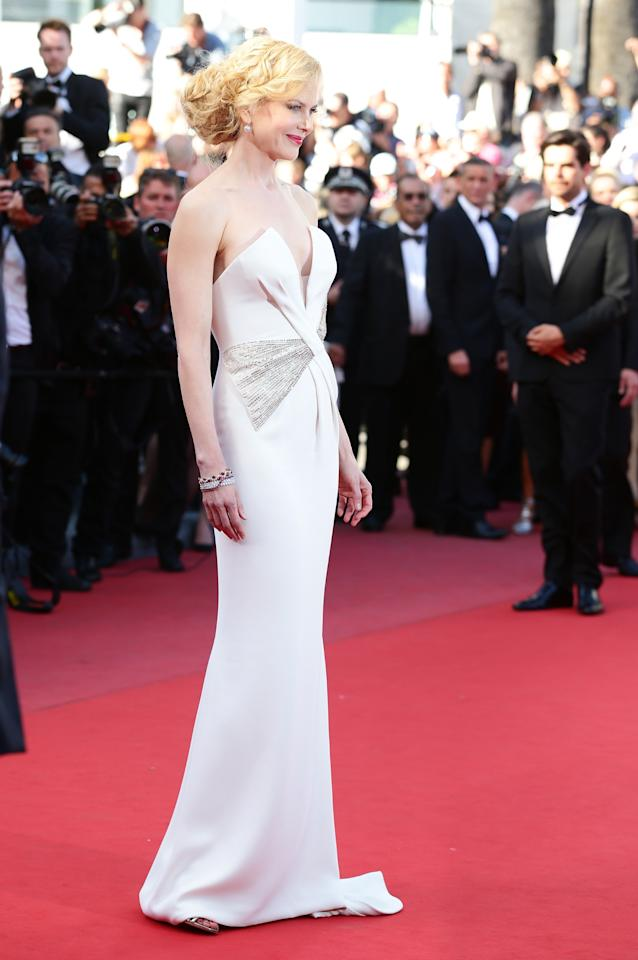 CANNES, FRANCE - MAY 26:  Actress and jury member Nicole Kidman attends the 'Zulu' Premiere and Closing Ceremony during the 66th Annual Cannes Film Festival at the Palais des Festivals on May 26, 2013 in Cannes, France.  (Photo by Vittorio Zunino Celotto/Getty Images)