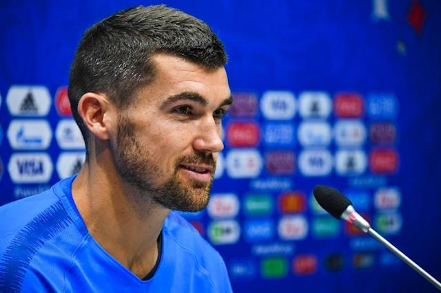 Australia goalkeeper Mat Ryan has brought a huge family contingent with him to Russia (AFP Photo/Nelson Almeida)