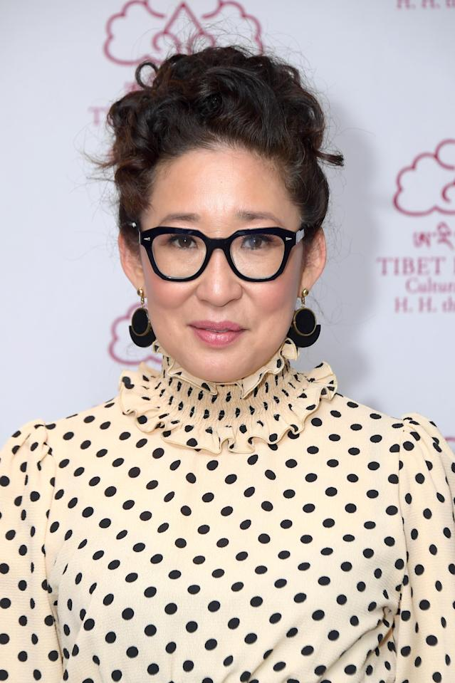 Sandra Oh attends the Tibet House 33rd Annual Benefit Gala at The Ziegfeld Ballroom on February 26, 2020 in New York City. (Photo by Michael Loccisano/Getty Images)