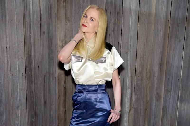 Nicole Kidman praised daughter Bella's new fashion line while she was at New York Fashion Week. Source: Getty