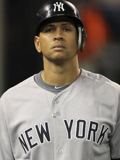 Alex Rodriguez went 2 for 4 with a run scored on Tuesday and is now 2 for 14 in the ALDS against Detroit