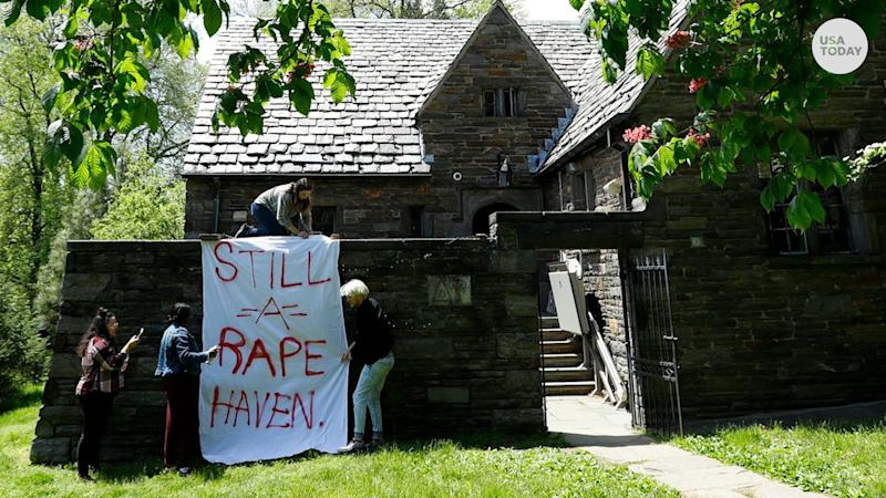 Swarthmore College fraternities in Pennsylvania have been suspended after leaked documents showed references to a 'rape attic.'
