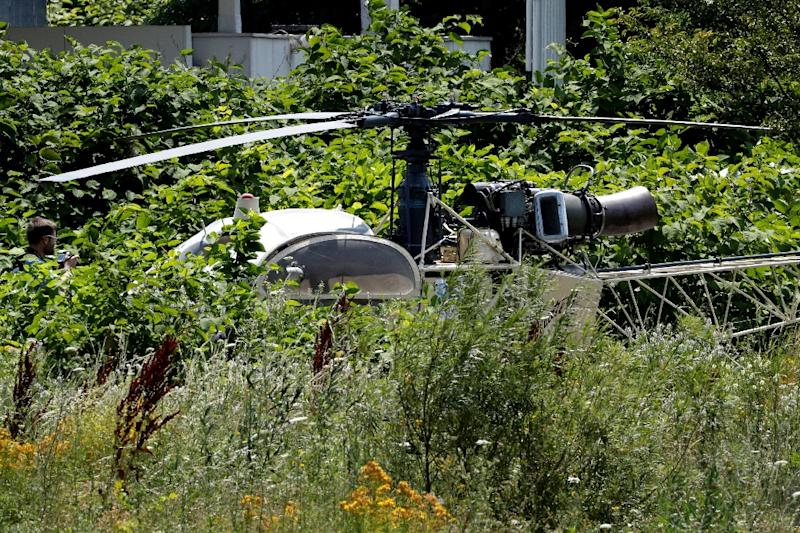 French murderer busts out of prison - in a chopper