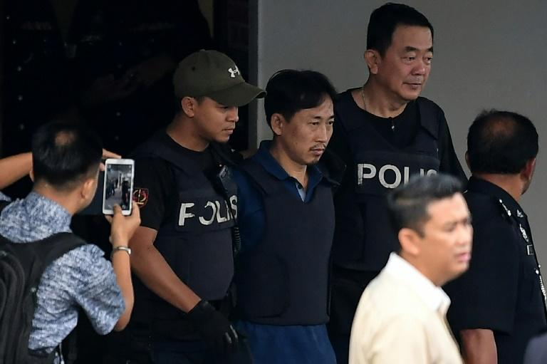 Ri Jong Chol (C), a North Korean suspect in the murder of Kim Jong-Nam, has been deported from Malaysia