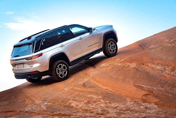 All-new 2022 Jeep Grand Cherokee Trailhawk 4xe.