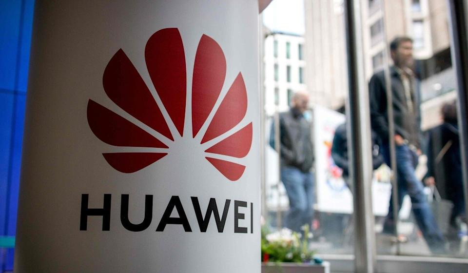 The British government is reviewing Huawei's role in the country's 5G network. Photo: AFP