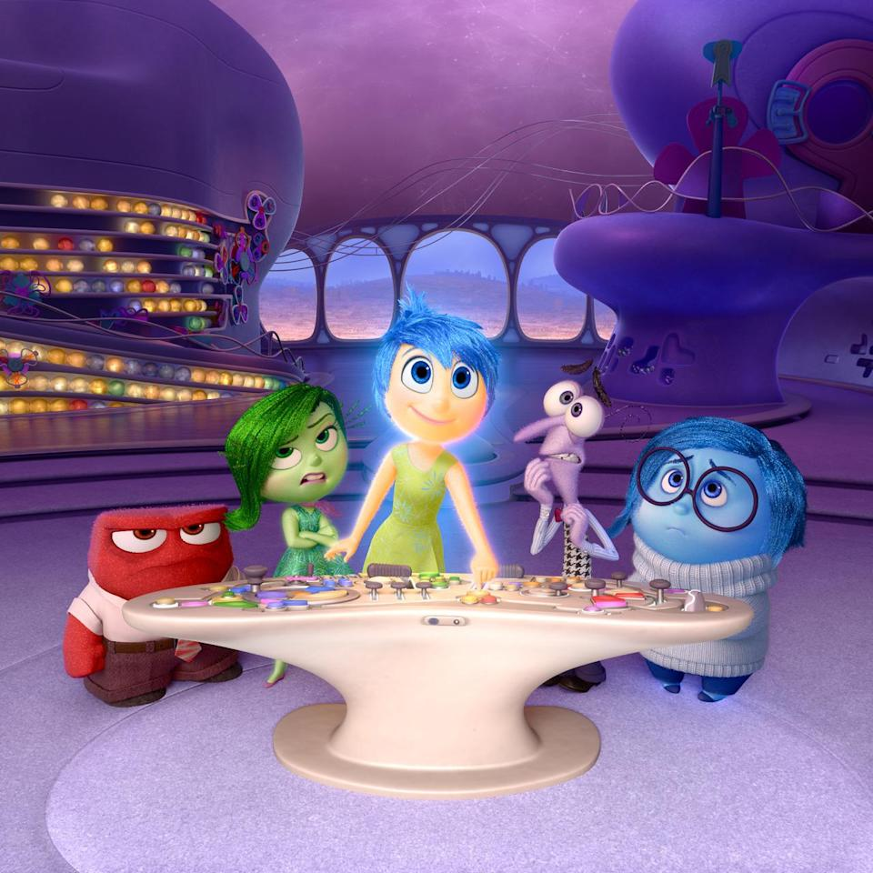 """<p>Amid a sea of reboots and sequels, Pixar's emotional family comedy <a href=""""http://news.yahoo.com/pixars-inside-set-box-office-record-debut-234539634.html"""" data-ylk=""""slk:opened bigger than any original movie;outcm:mb_qualified_link;_E:mb_qualified_link;ct:story;"""" class=""""link rapid-noclick-resp yahoo-link"""">opened bigger than any original movie</a>, live-action <i>or</i> animated, in Hollywood history. With a domestic gross of over $356 million, <i>Inside Out </i>defied creaky conventional wisdom, proving that a smart, original film with multiple female protagonists could draw an even bigger audience than the latest <i>Fast and Furious </i>installment. (Photo: Disney/Pixar)</p>"""