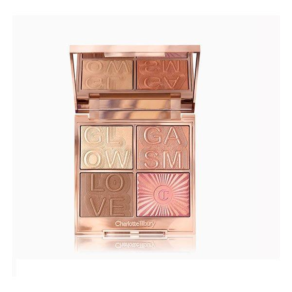"<p><b>Buy It: </b>$75;<b> </b><a href=""http://prf.hn/click/camref:1011l5epi/pubref:SL%2CRX_1908BestBronzers_CharlotteTilburyGlowgasmFacePalette%2Cpshannon1271%2C%2CIMA%2C634910%2C201908%2CI/destination:https%3A%2F%2Fwww.charlottetilbury.com%2Fus%2Fproduct%2Fglowgasm-face-palette-lightgasm"" target=""_blank"">charlottetilbury.com</a></p> <p>This one is a major investment, but a good one. With bronzer, blush, and highlighter in one (that would all look beautiful as eye shadows, too!), this palette has everything you need to get glowing all over. The Lightgasm color is a perfect option for fair-skin that's looking for a sun-kissed look without an orange incident. </p>"