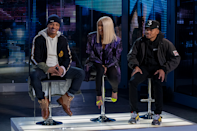 """<p>Folks at Netflix headquarters decided to cast Cardi B as one of three judges in <a href=""""https://www.oprahmag.com/entertainment/tv-movies/a28901459/rhythm-and-flow-netflix-release-date-trailer/"""" rel=""""nofollow noopener"""" target=""""_blank"""" data-ylk=""""slk:its first foray into the reality music competition show"""" class=""""link rapid-noclick-resp"""">its first foray into the reality music competition show</a> world—and for good reason. As she and T.I. and Chance the Rapper meet fresh talent from across the country, she delivers laugh-out-loud one-liners that'll make you glad to have stayed home. </p><p> <a class=""""link rapid-noclick-resp"""" href=""""https://www.netflix.com/title/80216665"""" rel=""""nofollow noopener"""" target=""""_blank"""" data-ylk=""""slk:Watch Now"""">Watch Now</a></p>"""