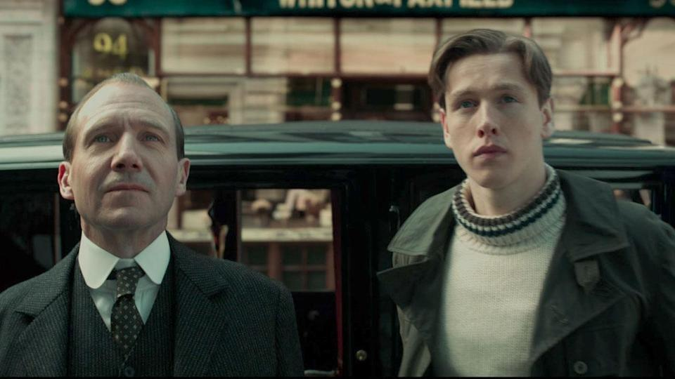 <p> <strong>Release date:</strong>&#xA0;March 12, 2021 </p> <p> After&#xA0;Kingsman: The Secret Service&#xA0;announced the arrival of a fun new spy saga, follow-up&#xA0;The Golden Circle&#xA0;fell a little flat. Now, director Matthew Vaughn gets a chance to reinvigorate the series (based on Mark Millar and Dave Gibbons&#x2019; comic book series) by going back to the early 20th century in this prequel &#x2013; we&#x2019;re thinking of it as The League of Extraordinarily Tailored Gentlemen. </p> <p> A big advantage of visiting the origins of the titular undercover organisation is the chance to roll out a lot of famous actors playing even more famous historical figures: Ralph Fiennes, Liam Neeson is Lord Kitchener, Rhys Ifans is Rasputin, Gemma Arterton is Mata Hari, and Tom Hollander is King George V, Kaiser Wilhelm II, and Tsar Nicholas II &#x2013; the three monarchs were cousins and the spit of each other. Expect ridiculous gadgets, over-the-top action and plenty of innuendo. </p>