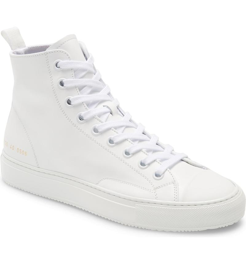 Common Projects Tournament High Top Sneakers