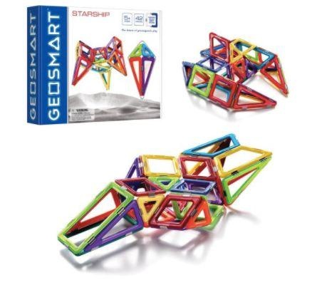 "This colorful <a href=""https://jet.com/product/GeoSmart-StarShip/5181850577274b688355b9455ae47f24"" target=""_blank"">StarShip</a> will help your child develop a keen eye for design."