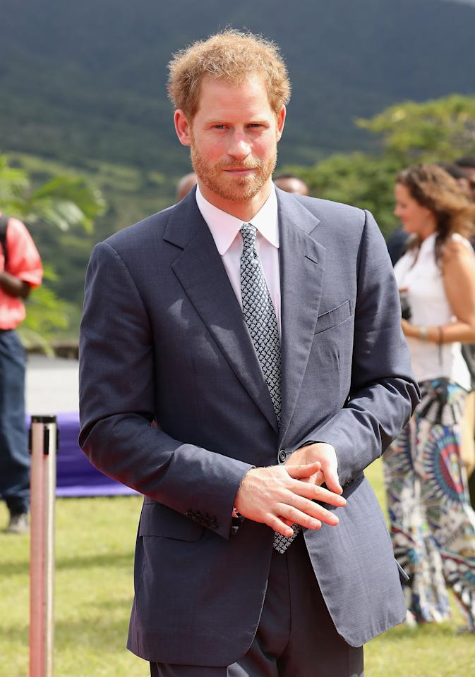 """<p>After news broke that Meghan and Harry were dating, Meghan was subjected to nasty attacks in the tabloids and on social media. Despite being quite private, Harry gallantly - and very publicly - <a href=""""https://www.popsugar.com/celebrity/Prince-Harry-Releases-Statement-About-Meghan-Markle-42678413"""" class=""""ga-track"""" data-ga-category=""""Related"""" data-ga-label=""""https://www.popsugar.com/celebrity/Prince-Harry-Releases-Statement-About-Meghan-Markle-42678413"""" data-ga-action=""""In-Line Links"""">defended Meghan in a statement</a> on the Kensington Palace Twitter account, urging the media and public to respect his new girlfriend's privacy. It just so happened to be the first time he publicly called her his girlfriend.</p>"""