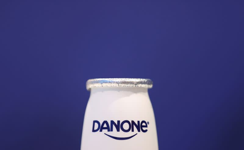 Danone hit by lockdown squeeze on bottled water sales